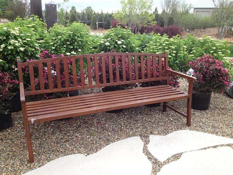 Wood Bench Outdoor Furniture