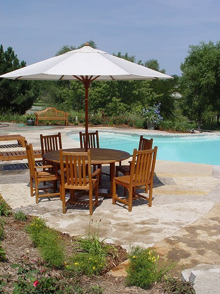 Outdoor Pool and Patio Set