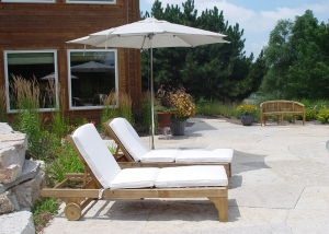 Wood Outdoor Loungers - Outdoor Furniture