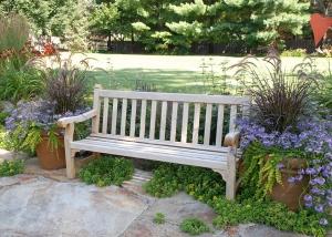 Outdoor Wood Bench