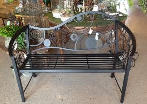 Modern Design Metal Bench