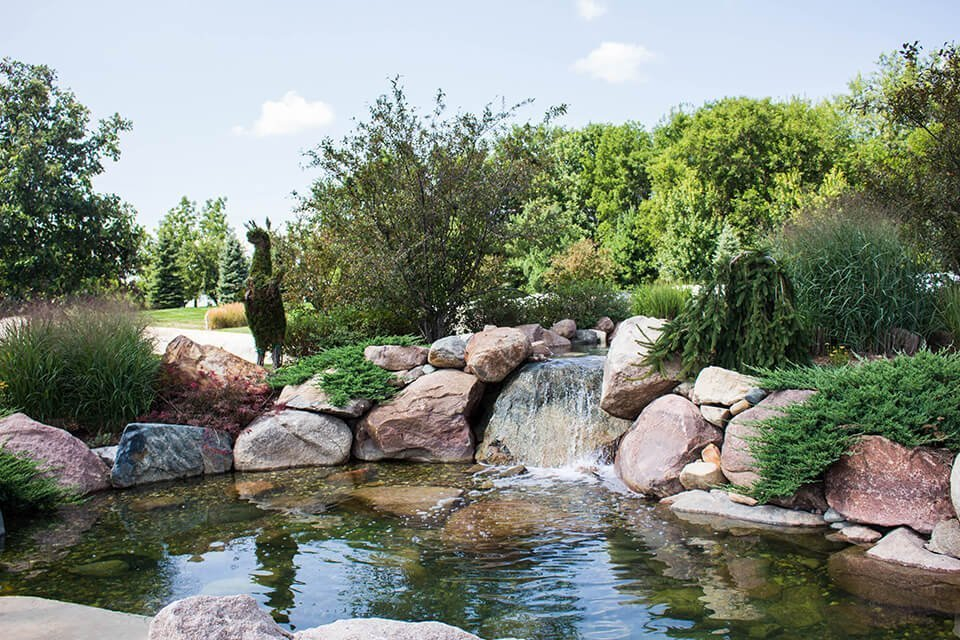 Ted Lare Boulder And Pond Design