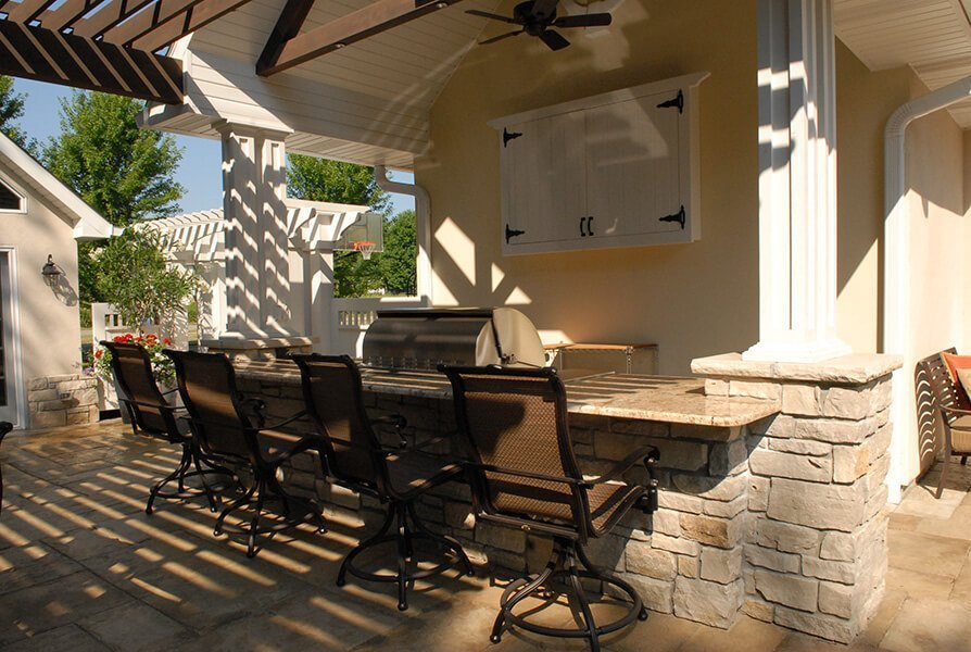 Outdoor Patio and BBQ Grill