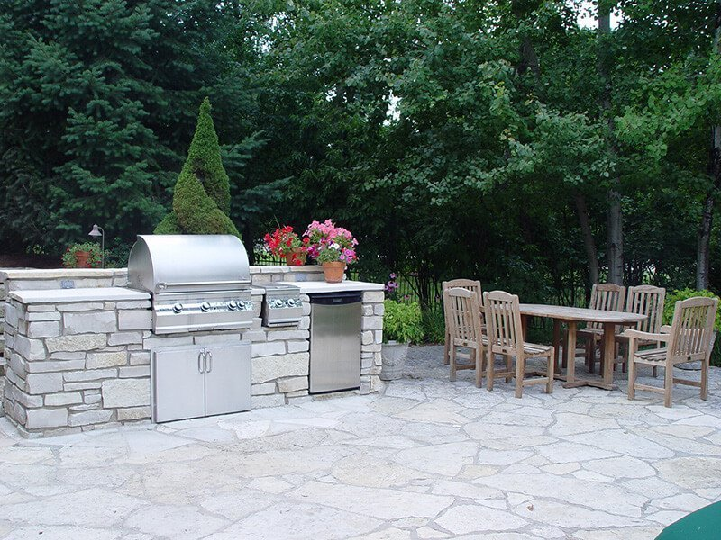 Outdoor Living - Grill Barbeque and Patio