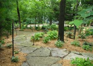 Large Stone Pathway