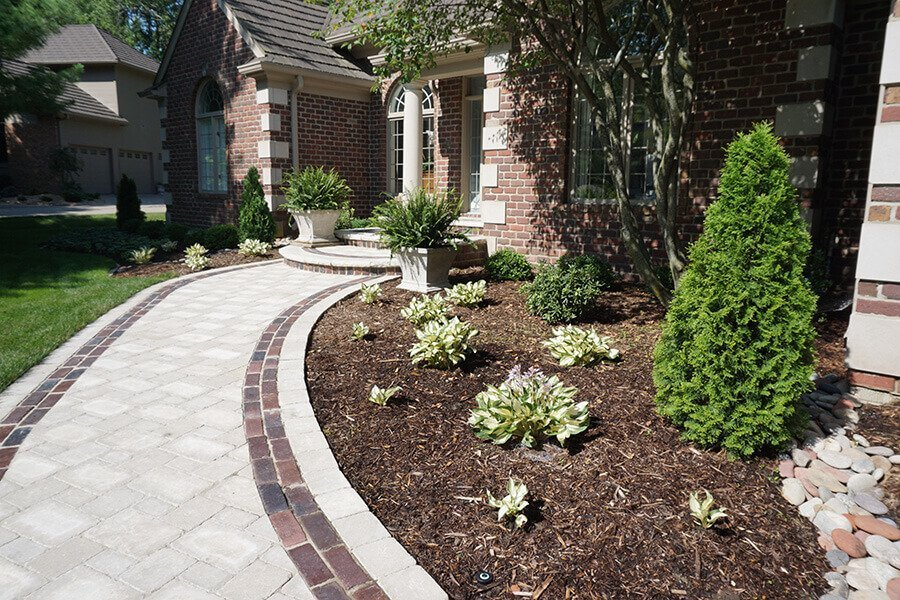 Brick Paver Path