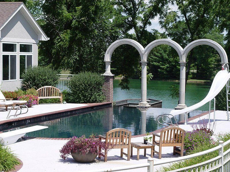 Outdoor Pool Landscaping