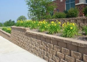 Brick Retaining Wall