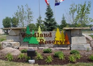 Custom Landscaping Woodland Reserve
