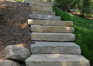 Stone Slab Stairway