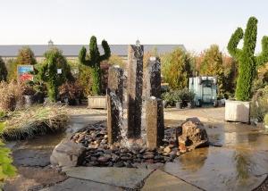 Modern Boulder Fountain