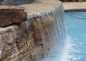 Pool Waterfall Boulder Design