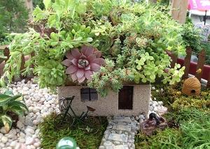 Unique Rock Garden Fairy Garden Design