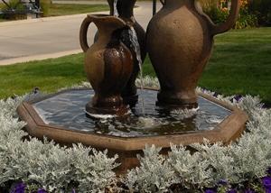 Water Fountain Landscape Design