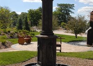 Outdoor Lighting Fountain