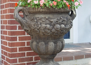 Unique Pottery Container Garden