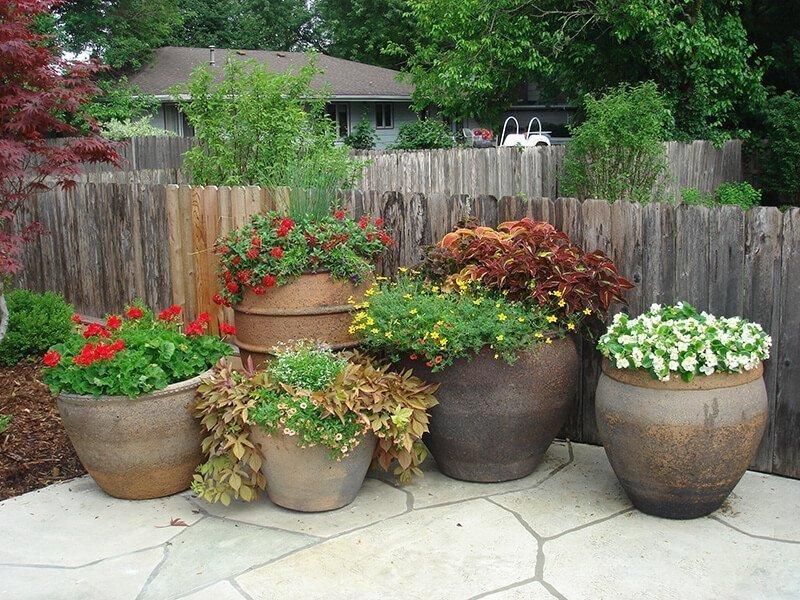 Unique Pottery Ted Lare Garden Center Greenhouse