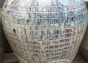 Unique Tiled Garden Pot