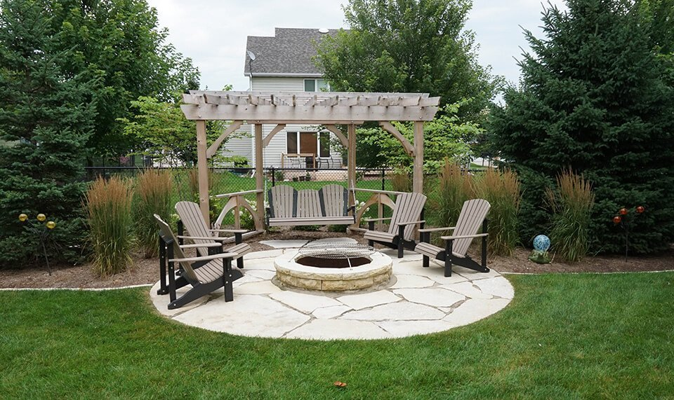 ted lare stone patio firepit pergola - Ted-lare-stone-patio-firepit-pergola - Ted Lare - Design & Build