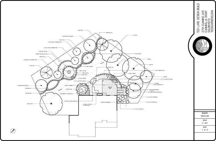 Landscape Design Plans & Blueprint