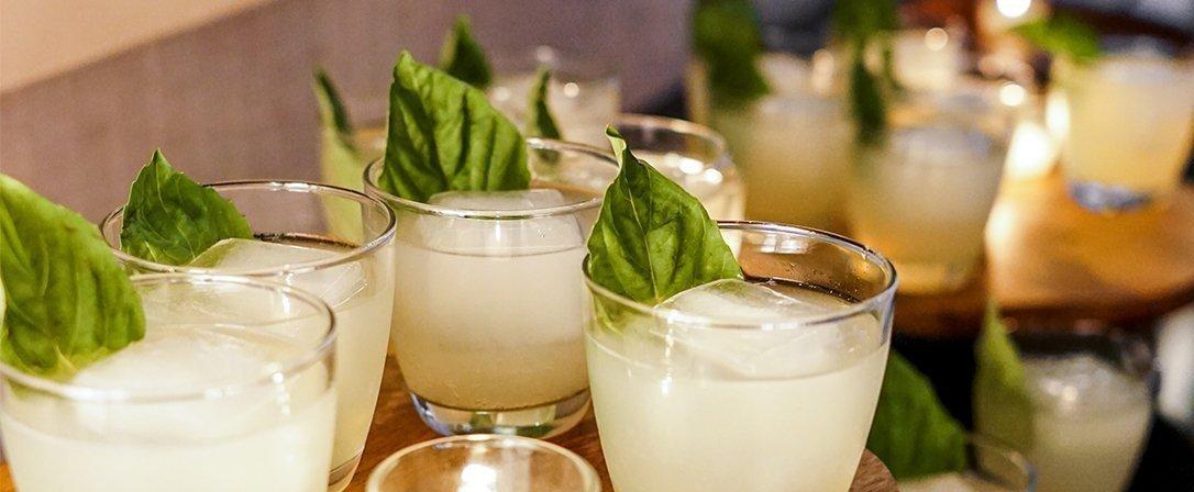 Cocktail Herb Gardens